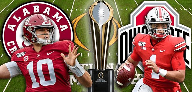 Alabama vs Ohio State live